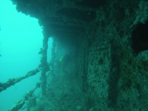 wreck diving specialty course, HMAS Hobart