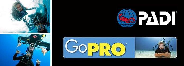 PADI GO Pro, professional courses, scuba,