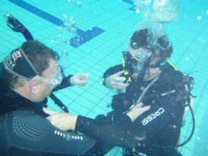 Dive master Course Blighty Keith stress test, the dive shack, adelaide