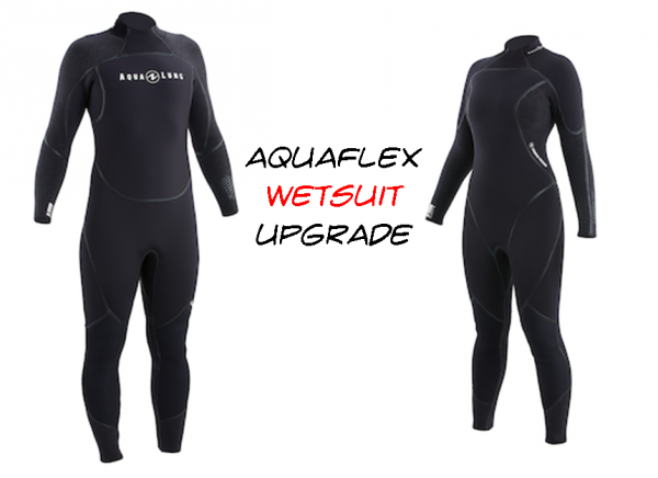 Open Water Course wetsuit upgrade, PADI